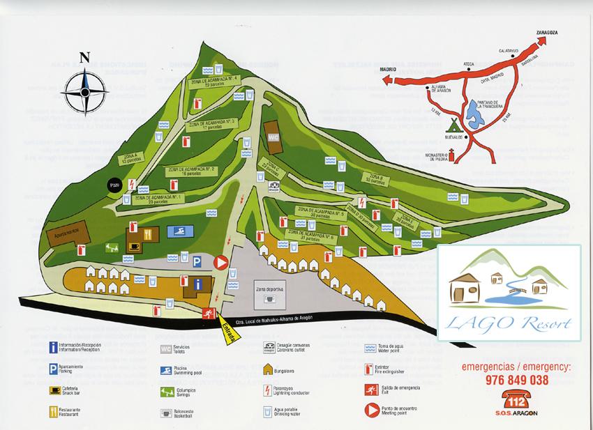 Monasterio De Piedra Camping Lago Resort